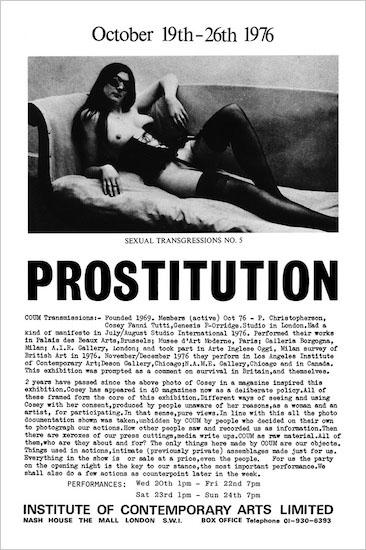 Cosey Fanni Tutti: Art Sex Music An autobiographical reading