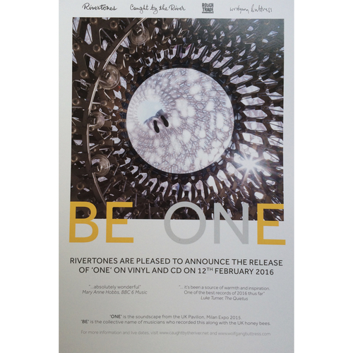 BE•ONE Record Release Poster