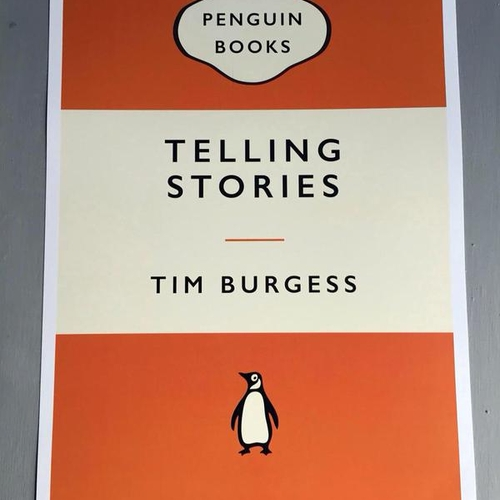 """SIGNED BOOK & PRINT: """"Telling Stories"""""""
