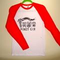 Geronimo baseball top - Red Sleeves