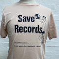 SAVE RECORDS PINK / BLACK TEE