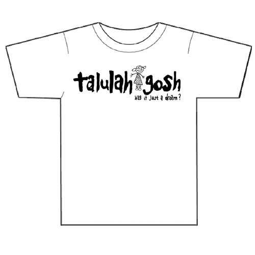 Talulah Gosh - Just A Dream T-Shirt (Mens White)