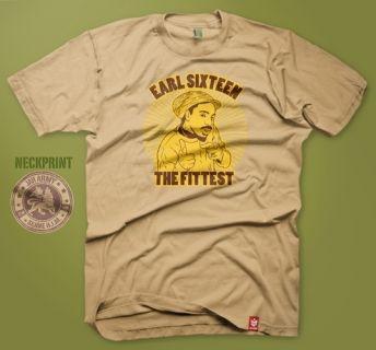 Earl Sixteen - Earl Sixteen - The Fittest Shirt Gold