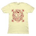 Theoretical Girl - Mens Beige T-Shirt