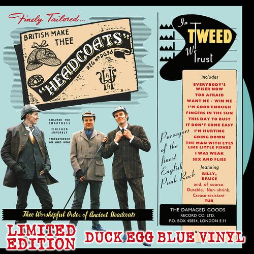 Thee Headcoats - In Tweed We Trust **DUCKEGG BLUE VINYL**