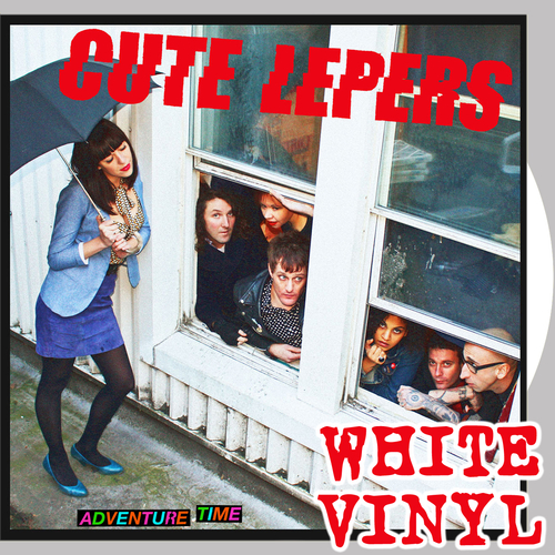 The Cute Lepers - Adventure Time (White Vinyl)