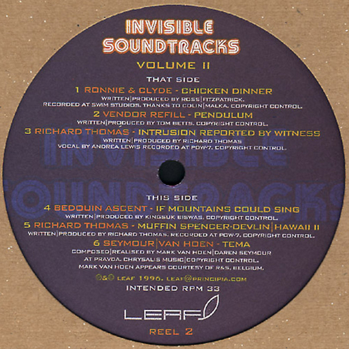 Various Artists - Invisible Soundtracks Volume II