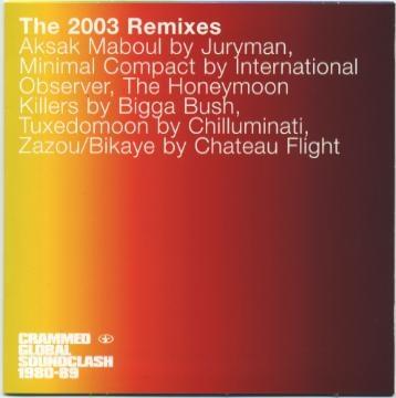 Various Artists - Crammed Global Soundclash -  the 2003 Remixes