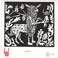 'Centaur' lino print
