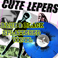 The Cute Lepers - Smart Accessories LP - Blue/black splatter  Vinyl