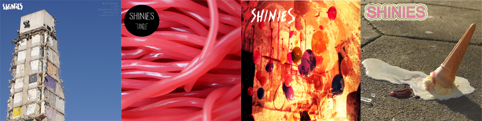 "Shinies - SHINIES Bundle (Nothing Like Something Happens Anywhere + Tangle 12"" + Ennui/Eighteen 7"" + Shola/Pillow Talk MP3)"