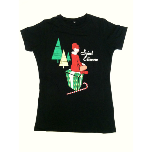Saint Etienne - 'Glimpse of Stocking' Ladies Tee
