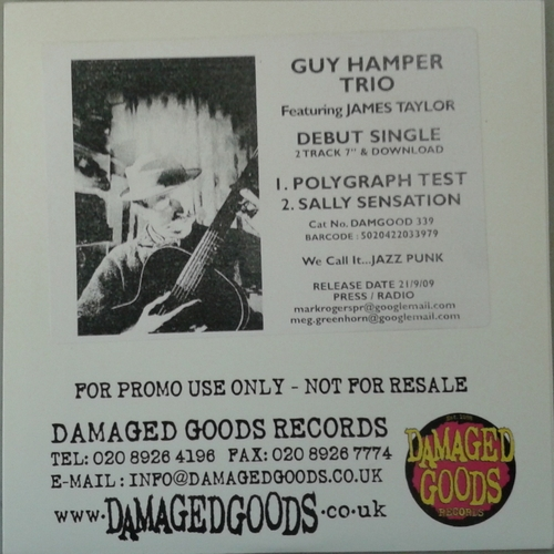 Billy Childish, Guy Hamper Trio - Guy Hamber Trio - Polygraph Test PROMO CDR
