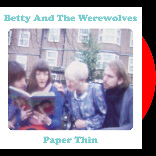 Betty And The Werewolves - Paper Thin (green vinyl)