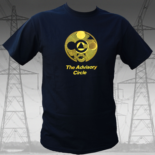 The Advisory Circle - The Advisory Circle - Yellow on Black T Shirt