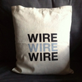 Wire - natural white cushion