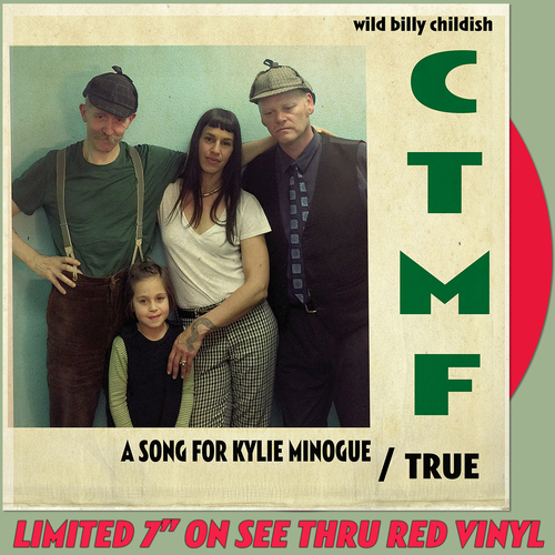 "CTMF - A Song For Kylie Minogue 7"" (Transparent Red Vinyl)"