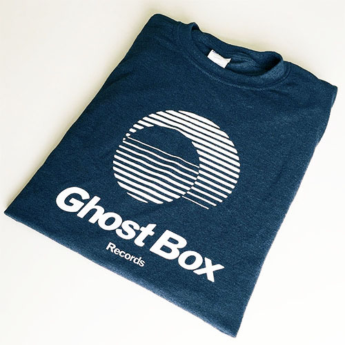Ghost Box T-Shirt (navy & white)