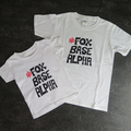 'Foxbase Alpha' Kids White Tee