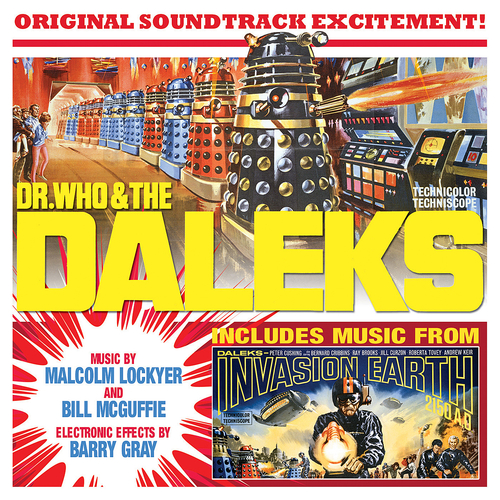 Malcolm Lockyer | Bill McGuffie - Dr. Who and The Daleks / Daleks Invasion Earth 2150 AD