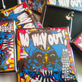 NO WAY OUT! 1 SQUARE BADGES