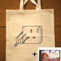 Idyll Intangible + Canvas Shopper