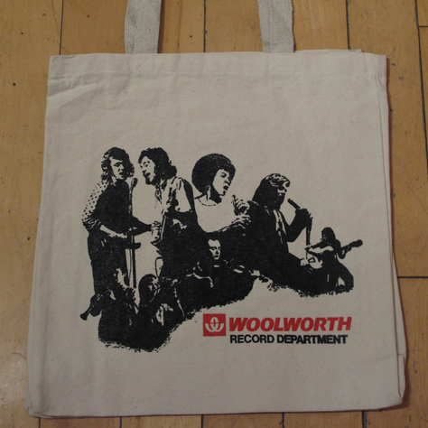 2050223fe2 Woolworths Record Tote!    Trunk Records