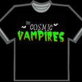 COSMIC VAMPIRES LOGO T-SHIRT