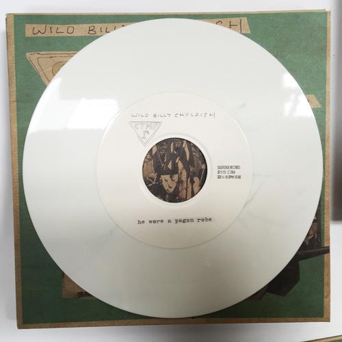 Billy Childish, CTMF - CTMF - He Wore A Pagan Robe (White)