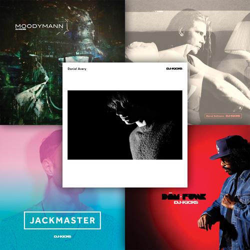 Various Artists - 2016 DJ-Kicks CD-Bundle