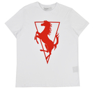 Logo T-shirt - White/Red
