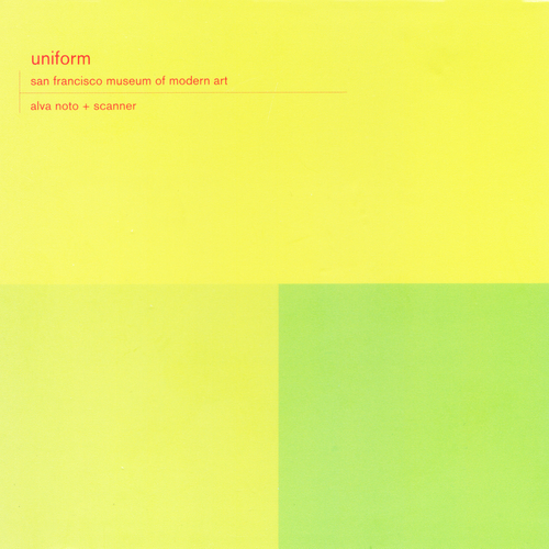 Alva Noto & Scanner - Uniform