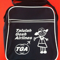 Talulah Gosh Flight Bag BLUE