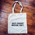 Anti-Ghost Moon Ray Tote Bag
