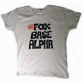 'Foxbase Alpha' Womens Ivory Tee