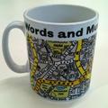 Words and Music Mug