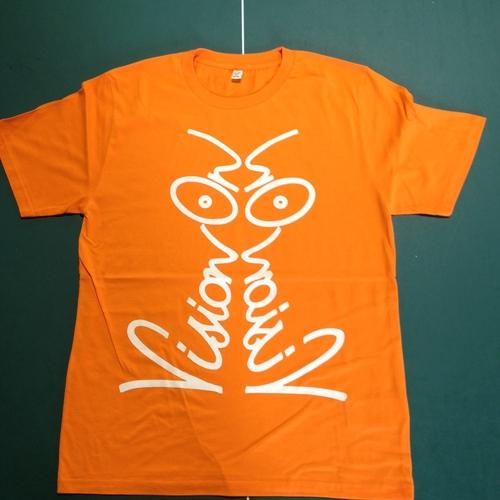 "Vision On ""Discharge"" Tee - Orange"