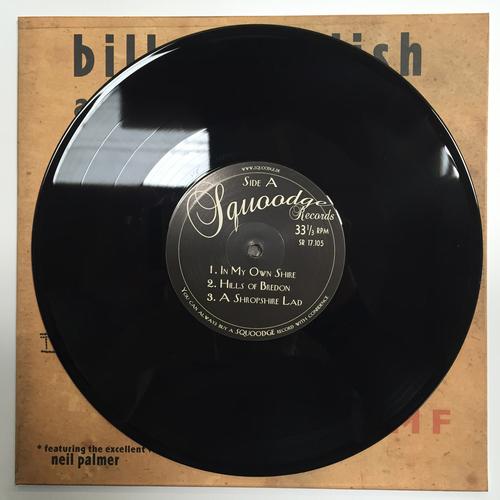 "Billy Childish, CTMF, Spartan Dreggs - CTMF - Wild Billy Childish - A Tribute To A. E. Housman - BLACK VINYL 10"""