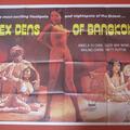 Sex Dens Of Bangkok. Rare UK Quad