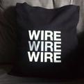 Wire - black cushion