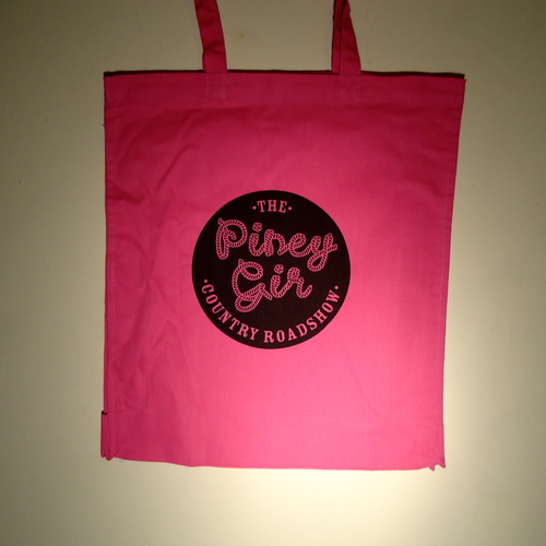 Piney Gir - Country Roadshow pink tote bag