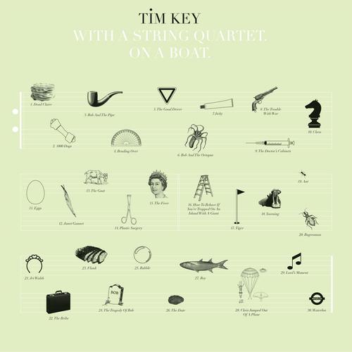 Tim Key - Tim Key. With A String Quartet. On A Boat.