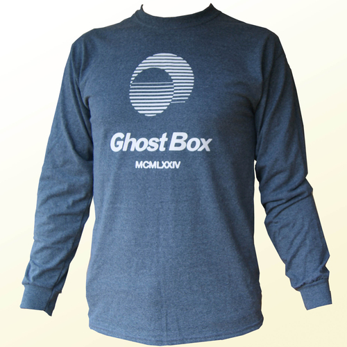 Ghost Box Long Sleeve T Shirt (grey)