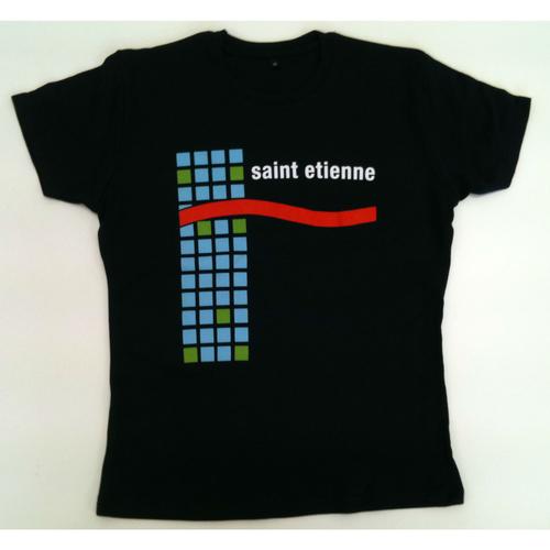 Saint Etienne - 'You're In A Bad Way'  Ladies Navy Tee