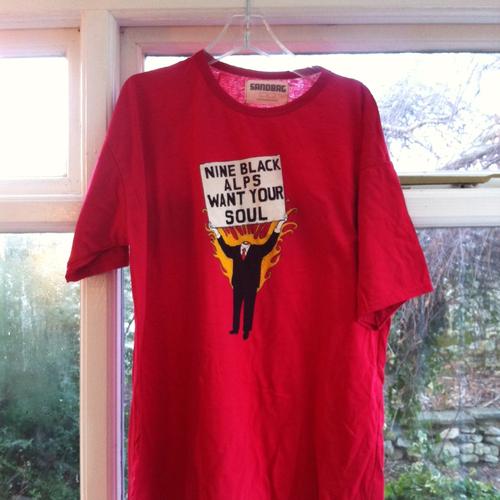 Nine Black Alps - Nine Black Alps Red I Want Your Soul T-shirt