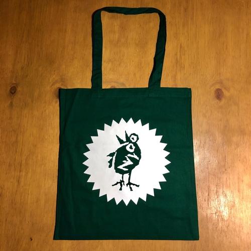 Heavenly Bird Green Tote Bag