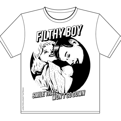 Filthy Boy - Filthy Boy T-Shirt - Smile Album Design