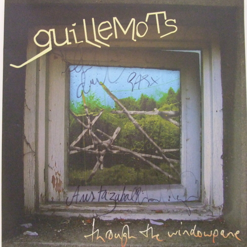 Guillemots - Through The Window Pane - Signed Vinyl LP