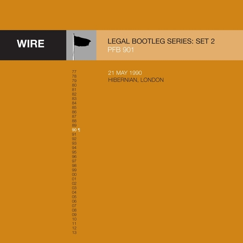 """Wire - Releases 3-5 in Wire's """"Legal Bootleg"""" Download Series 2"""