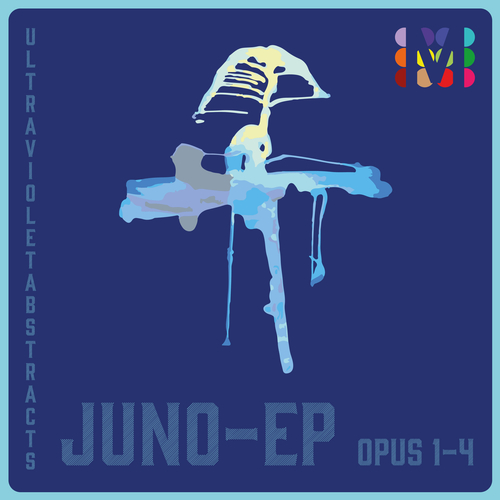 Ultra Violet Abstracts - Juno-Ep